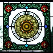 Library window, Old Parsonage